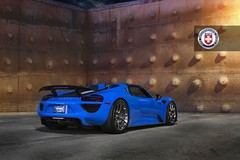 Porsche 918 Spyder on HRE P101