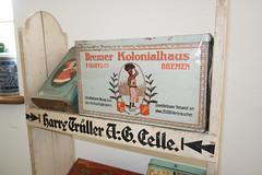 Antique Bremer Kolonialhaus coffee tin (quinet) Tags: coffee caf germany antique kaffee bremen grocery ancien antik picerie 2013 kaffeedose lebensmittelgeschft domnedahlem coffeetin bremerkolonialhaus foloffco botecaf
