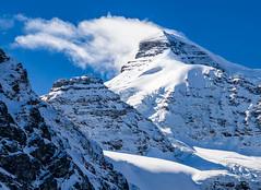 Mount Athabaska (martincarlisle) Tags: shadow sky snow canada mountains clouds rockies parks alberta glaciers rockymountains nationalparks jaspernationalpark columbiaicefields canadianrockies icefieldshighway sigmalenses sonycameras mountathabaska