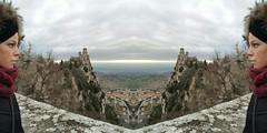 San Marino #me (mariapoli2) Tags: trip travel love me nature mirror rocks sanmarino view top memories windy febbraio dontstop repubblica travelgirl goodvibes 2016 traveldiaries fortezze discoveringnewplaces passodellestreghe sharetravelpics