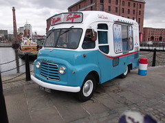 1961 Commer BF (Neil 02) Tags: liverpool van albertdock catering icecreamvan mistersoftee merseyside commerbf xsk283 therealdairyicecreamcompany