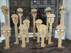 Optician's shop (seikinsou) Tags: ireland reflection window shop glasses spring display spectacles optician nenagh