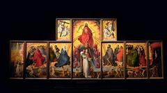 "Polyptychon ""Jugement dernier"" von Rogier van der Weyden - Beaune (Cote d'Or, Bourgogne, France) (Lautergold) Tags: bourgogne unescoworldheritage beaune hteldieu jugementdernier rogervanderweyden unescowelterbesttte unescopatrimoinemondial lesclimatsduvignobledebourgogne"