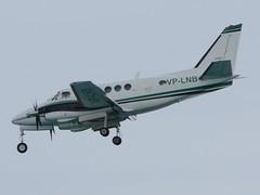 VP-LNB Beech A100 King Air at Sint Maarten (yyzgvi) Tags: king air sint maarten beech vi a100 airlink vplnb