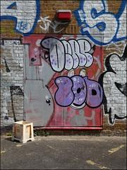 Derp / Sod (Alex Ellison) Tags: urban graffiti boobs uga graff sod derp northwestlondon