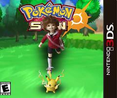 Pokemon Trainer Juju (Catfishy2u) Tags: ball doll chibi pikachu pokemon bjd alchemic jointed labo unoa roron