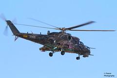 NTM 2016 - Tiger Meet Zaragoza - MiL Mi-24 (Javier Frauca) Tags: canon aircraft tiger jet zaragoza helicopter avión meet mil helicóptero militaryaviation 2016 ntm tigermeet mi24 70d tigersquadron natotigermeet avióncombate