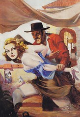 Robert Lesser / Pulp Art / Bild 69 (micky the pixel) Tags: art illustration painting buch book kunst pulp livre wildwest pulpart robertlesser spicywesternstories dearlittledude hlparkhurst