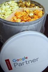 "Google Premier Partner Swag Gifts Popcorn • <a style=""font-size:0.8em;"" href=""http://www.flickr.com/photos/31682982@N03/28250573656/"" target=""_blank"">View on Flickr</a>"