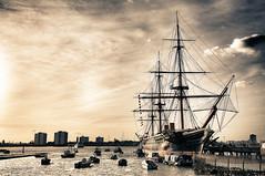 HMS Warrior (Saving Private Emily) Tags: england nikon market victorian portsmouth pro warrior nik nikkor 1224mm f4 hdr hms d300 efex nikond300 nikon1224mmf4nikkor