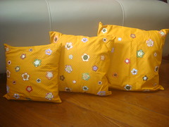 ~*~ Almofadas ~*~ (Mari BR) Tags: mari patch tecido almofadas encomenda aplicaao maribr