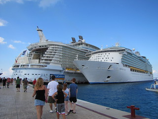 Allure and Mariner of the Seas