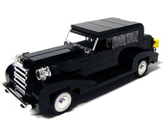 1933 Cadillac (-derjoe-) Tags: car lego joe cadillac der godfather pate 1933 moc derjoe