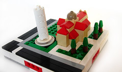 Pisa tower (Parda Technic) Tags: lego micro microcity