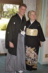 Me & Mom (Mongwau) Tags: family wedding friends japan japanese hotel groom bride joel ceremony marriage reception notbyme naomi hakama  kimono yamanashi  kofu  tokiwa