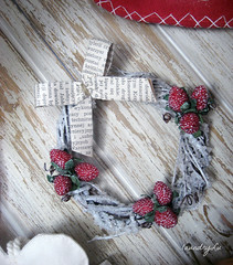 handmade by laundryLu (Laundry Lu) Tags: handmade christmastreedecorations vintagechristmasdecorations