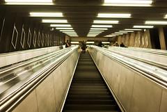 Stockholm (ataluna) Tags: subway metro pentax stockholm sverige estocolmo escaleras suecia tunnelbana adrianatovarc