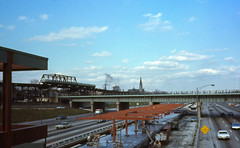 19681109 03 Dan Ryan L construction @ 63rd St.. (davidwilson1949) Tags: chicago illinois construction cta transit rapidtransit