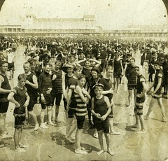 (animated stereo) All the world a bathing goes, 1901 (Thiophene_Guy) Tags: ocean portrait blackandwhite bw men history beach monochrome fashion pier stereogram 3d newjersey women victorian nj jiggly wiggly stereo atlanticcity boardwalk stereoview animated gif jiggle bathing parallax animatedgif 20thcentury wiggle 1900s victorianfashion gildedage wasson victorianera derivativeworks stereophotomaker clwasson thiopheneguy motionparallax animatedstereo internationalviewco imagescannedbythiopheneguy