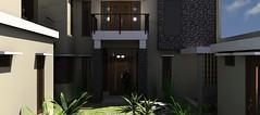 Desain rumah modern minimalis di daerah Rawamangun6 (rumahdesain2000) Tags: jakarta minimalis elegan mushola batualam preliminarydesign rumahibadah 2lantai projectlists