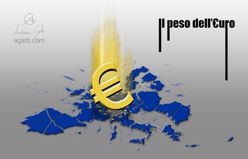 il peso dell'euro