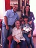 With Mike, Veronica and Ingrid on his 82nd birthday (Ronnie Biggs The Album) Tags: ronnie biggs greattrainrobbery oddmanout ronniebiggs ronaldbiggs