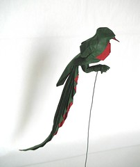 Quetzal (folding~well) Tags: bird paper origami folding quetzal