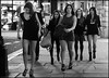 Regent Street Strut (jonron239) Tags: girls london night highheels boots regentstreet smoking piccadillycircus friday miniskirt lbd clocked sensible dressedtokill partyon barelegs shortdress didntgetit shortjacket iwasexpectingamouthfulfromoneofthematleast backtogeezerstomorrow