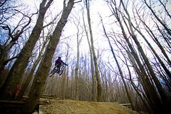 Ghi @ Beigua (ilDega) Tags: italy mountain bike canon eos luca ride liguria mountainbike free downhill il romano varazze dh 7d freeride ciccio commencal dega bastardo beigua parrucchiere scorra ildega