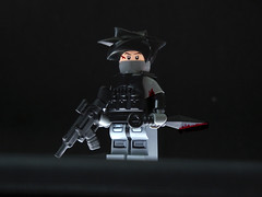 Blood Hawk ([N]atsty) Tags: japan photoshop dark blood lego jp gore trade minifigure ipad minija brickarms minifigcat lminifig