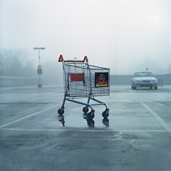 Cart Park (ted.kozak) Tags: morning 6x6 film car fog mediumformat shopping background parking explore cart bog selfdeveloped c41 kozak explored tetenal fujipro160ns zenzanonps80mmf28 tedkozak tadaskazakevicius wwwtedkozakcombronicasqa
