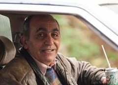 Beirut, Lebanon 2010 (LightNodes) Tags: old lebanon travelling tourism smile drink cab middleeast olympus panasonic driver beirut lebanese 7up ep1