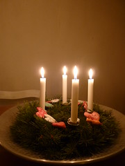 Fourth of Advent Wreath