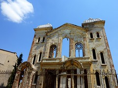 The old synagogue in Edirne (Turkey) (Frans.Sellie