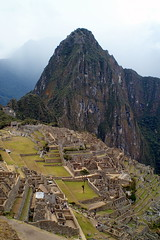 View to Machu Picchu