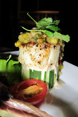 FL - Hollywood: Sugar Reef Tropical Grill - Blackened Sea Scallops (wallyg) Tags: blackenedseascallops seascallops seascallop scallops scallop seafood foodporn restaurant sugarreeftropicalgrill patrickfarnault sugarreefgrill sugarreef hollywood florida browardcounty goldcoast eater