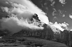 Eiger North Face (Ron Scubadiver's Wild Life) Tags: eiger switzerland mountain blackandwhite nikon landscape outdoor