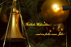 Frohe Weihnachten (Maik Arink) Tags: light weihnachten photography licht candle fotografie kerze christmastree fir depth kugel maik tanne frohe christbaum tiefenschrfe nordmanntanne schlangenmuster snakepattern arink nordmannfir neuesyahr merrychristmasball newyahr
