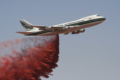 Evergreen SuperTanker, 747-drop-900 (Bill Oz) Tags: forestry aircraft airplanes boeing turbine 747 turboprop s2 grumman cdf retardant slurrybombers firefirefighters marshaviation