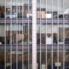 behind bars (Cosimo Matteini (PC virus ridden. Off for a while)) Tags: city reflection building london architecture pen 50mm office bars interior olympus f18 zuiko fenchurch m43 mft epl1 cosimomatteini fenchurststreet billierstreet