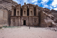 The Monastery (Zalacain) Tags: rock temple petra middleeast jordan themonastery nabatean archeologicalremains gettyimagesmiddleeast gimemay1713