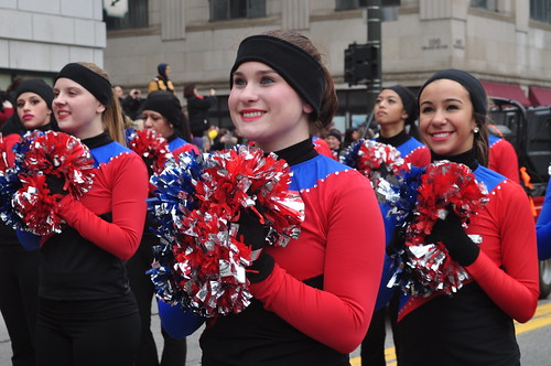 2011 Thanksgiving Parade - Mid American Pompon All Star Team
