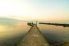 bridge in vidy (hidekin123) Tags: bridge lake tripod lausanne tokina 124 lee nd filters vidy leman gitzo swizerland d90 3stops 09h bibble5