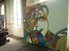 clockpunk (quillshadow) Tags: streetart outpost cockatooisland