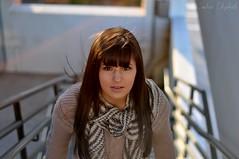 {Senior} Megan (Candice Elizabeth) Tags: winter portrait fall senior girl leaves fashion hair 50mm nikon wind picture f18 d90