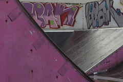 Bit of Colour - Health & Safety closes Skate Park for third time since opening (Rusty Marvin (Dreaming of mid summer)) Tags: park colour graffiti ramp angle alcohol skate drug slope abuse wight dec13 ryde sc13 underagepregnancy scdec scdec13