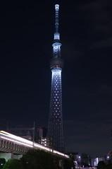 2011 Illuminated Tokyo Sky Tree (ELCAN KE-7A) Tags: japan tokyo pentax illumination   k7 2011    skytree