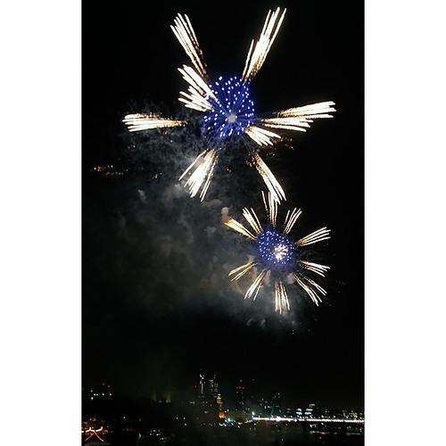 Thames Festival fireworks