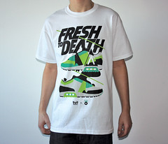 Fresh to death, AnyForty Clothing (Dmitri Aske) Tags: tshirt sneakers 2009 aske sicksystems anyforty