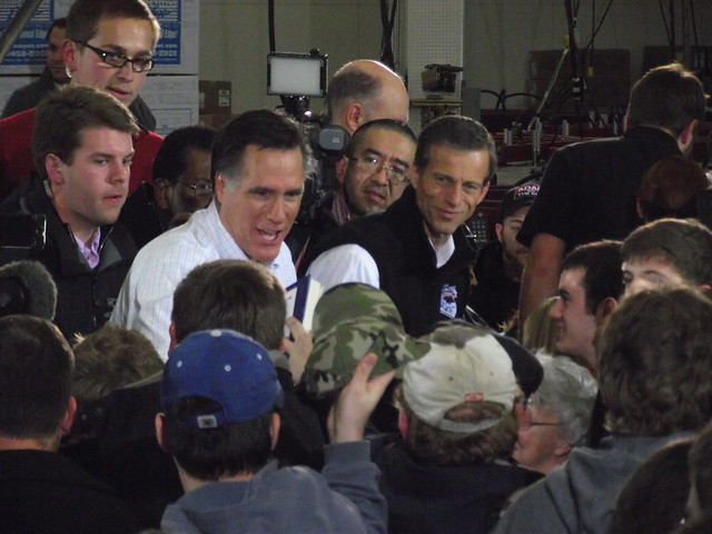 MITT ROMNEY in Clive, Iowa.